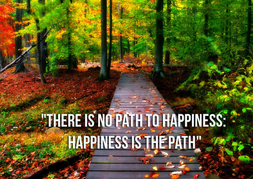 Happiness-path