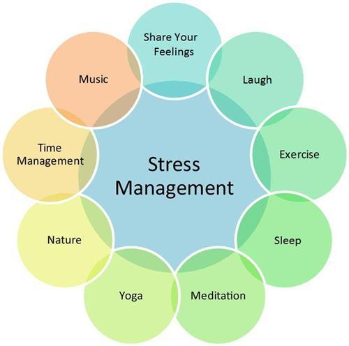 Stress management diagram
